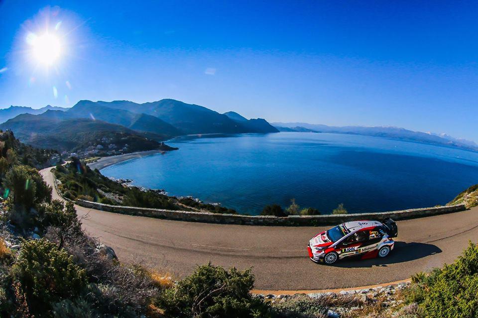 Korsika rajal. Ott Tänak fanpage