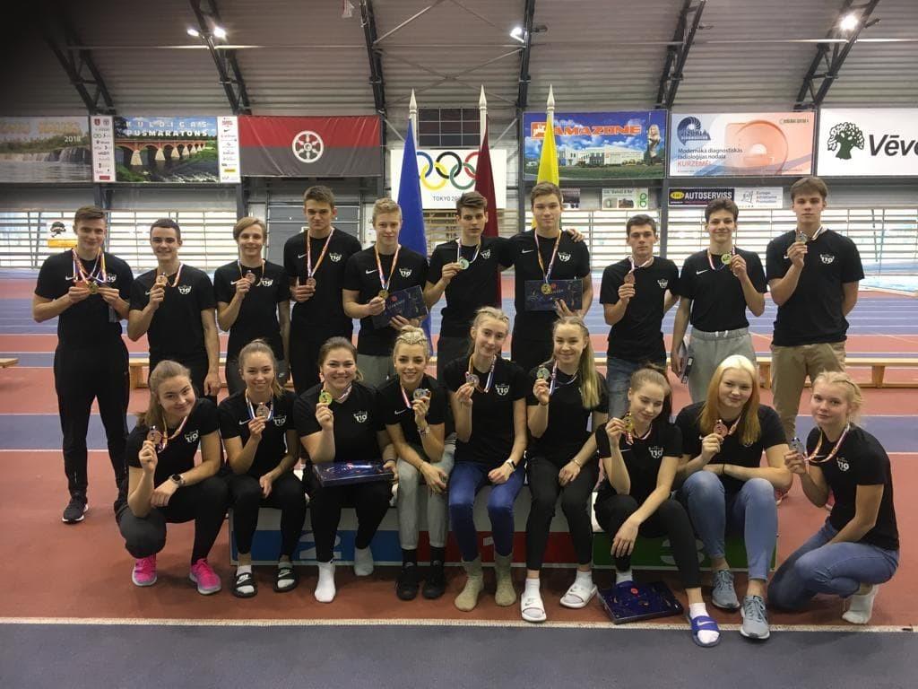 Balti MV medalistid. Eesti kergejõustikuliit