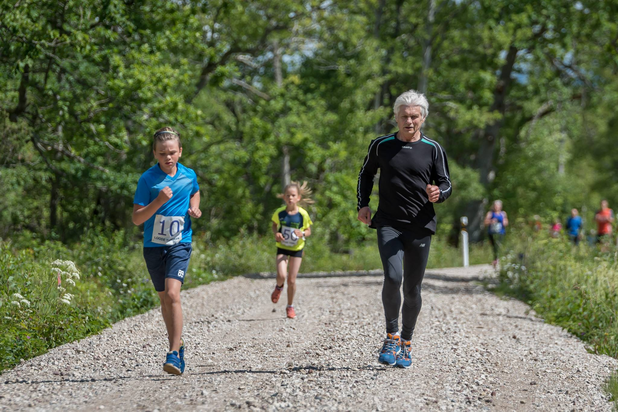 Sportlased valisid Kolme päeva jooksu kolmandaks