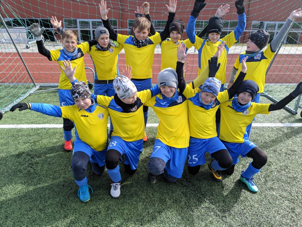 Poisid turniiril. FC Kuressaare