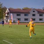 Sander Laht rünnakul. Allan Mehik/soccernet