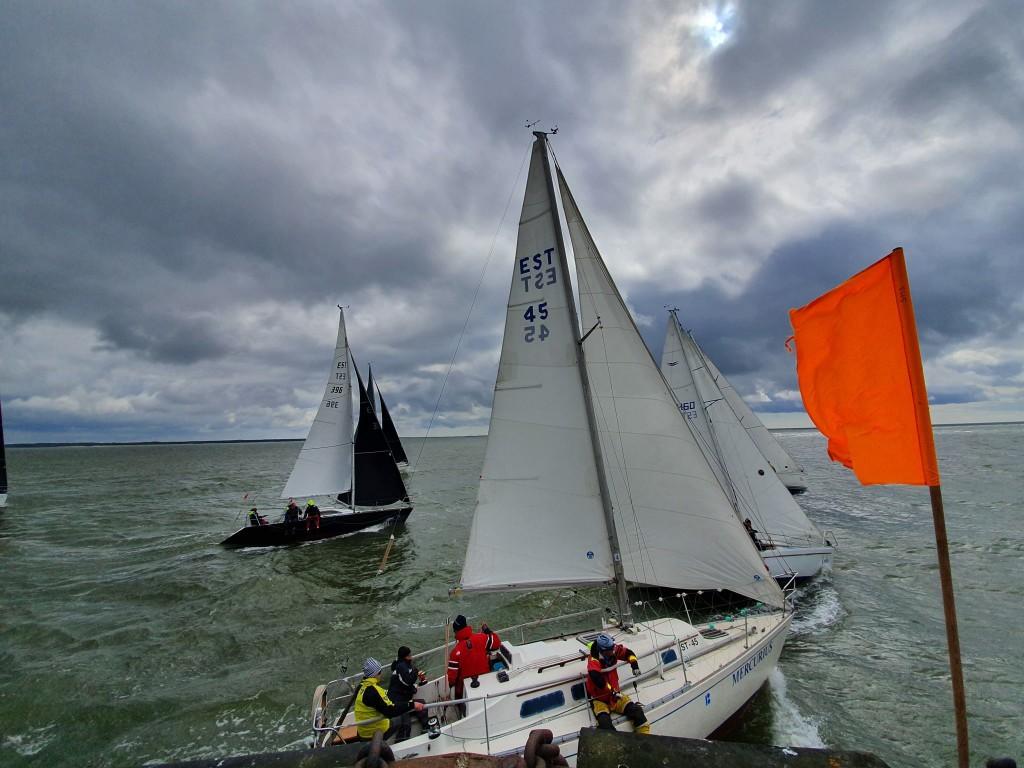 Start on antud. Saaremaa Merispordi Selts