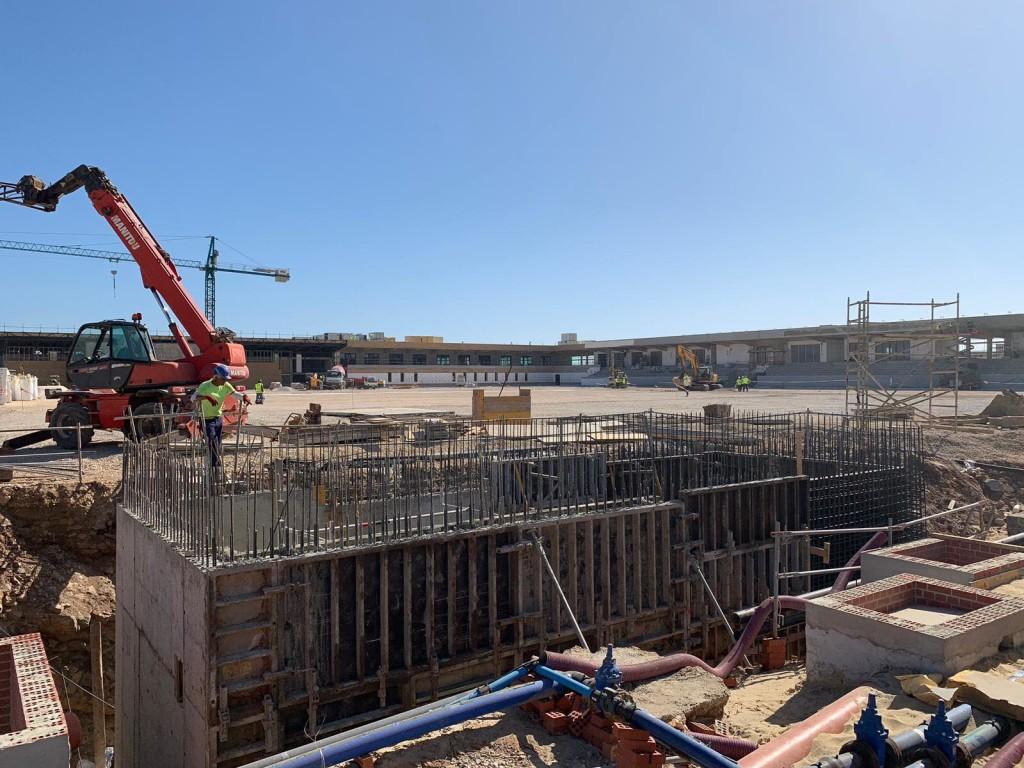 Ehitustööd veel käivad. Gibraltar Chronicle