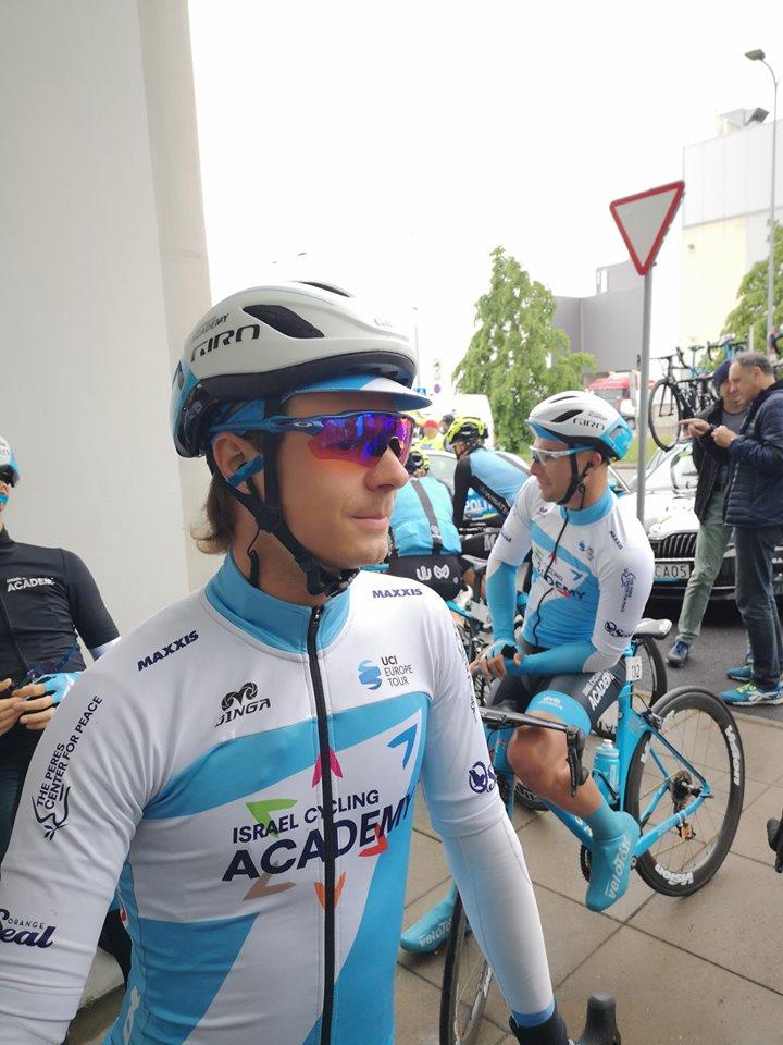Mihkel Räim oli seekord abistaja rollis. Cycling Academy