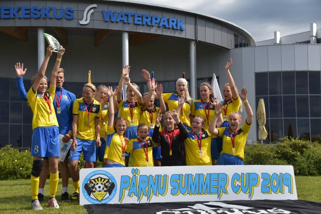 Võidukas võistkond. Pärnu Summer Cup