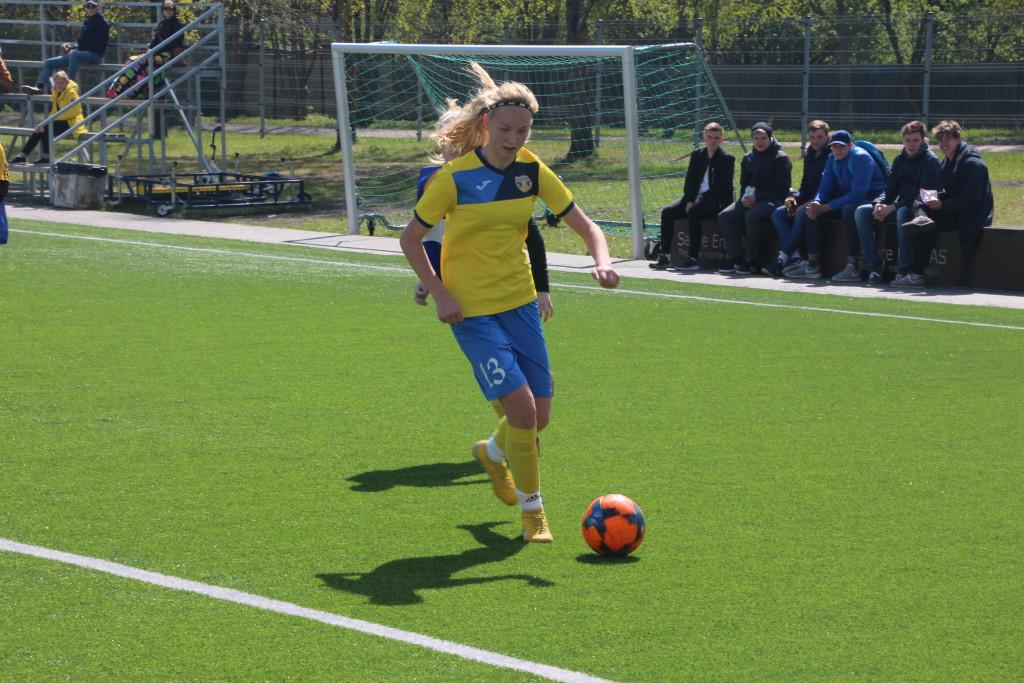 Kristina Teern lõi taas võiduvärava. Alver Kivi