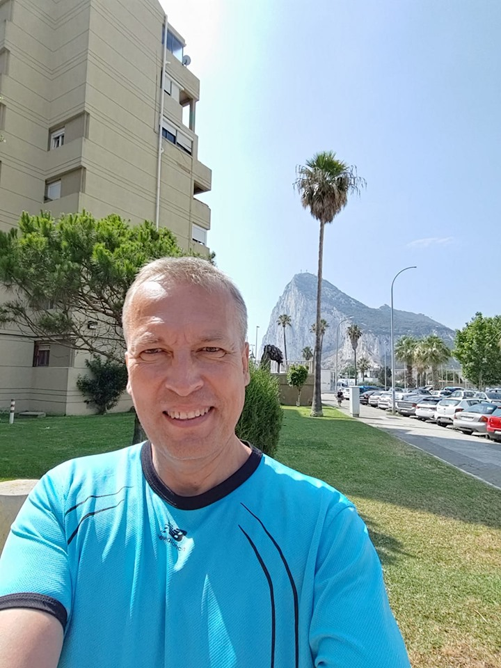 Toomas Kasemaa Gibraltari väravas. Erakogu