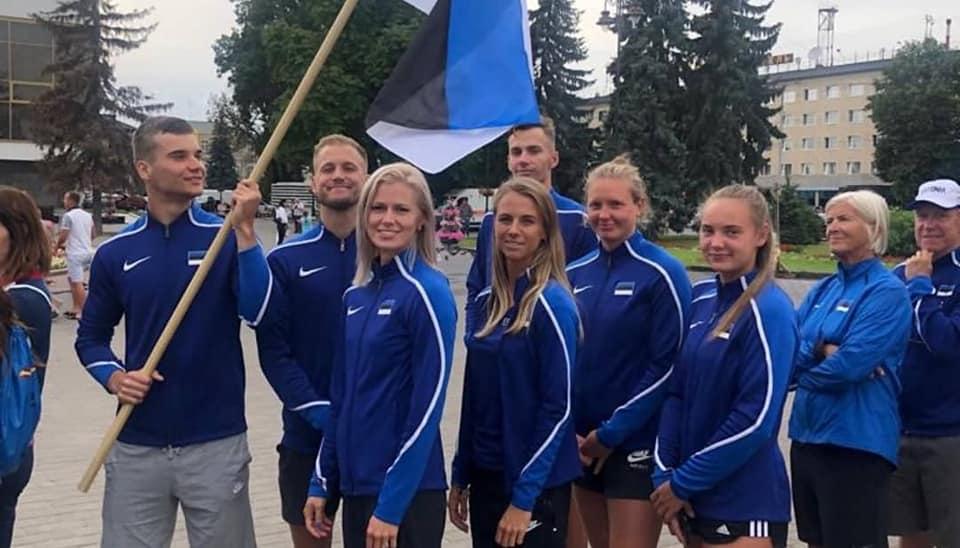 Koondislased. Eesti kergejõustikuliit