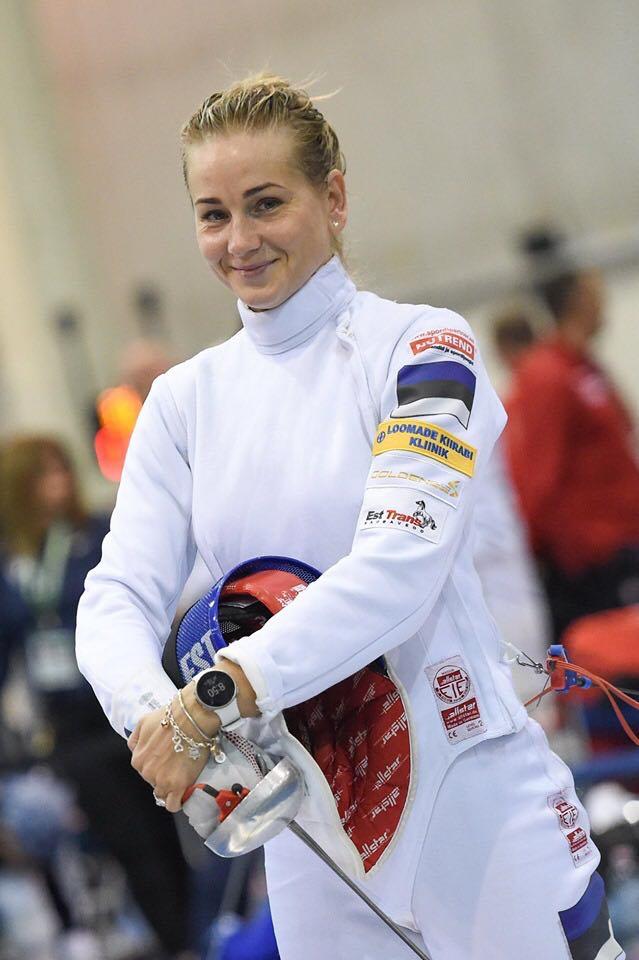 Kristina Kuusk seeker kaugele ei jõudnud. Eesti Vehklemise Liit
