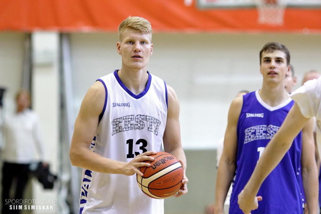 Eesti U20 koondise treening. Siim Semiskar/basket.ee