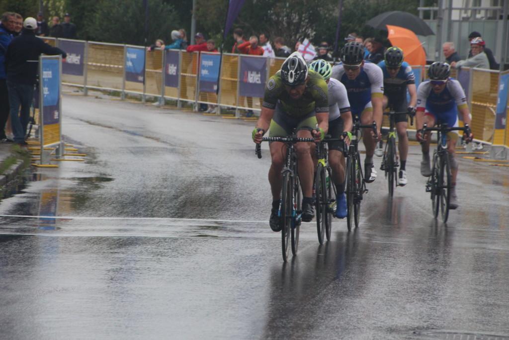 Gotlandil tuli võistelda vihmast märjal teel. Alver Kivi
