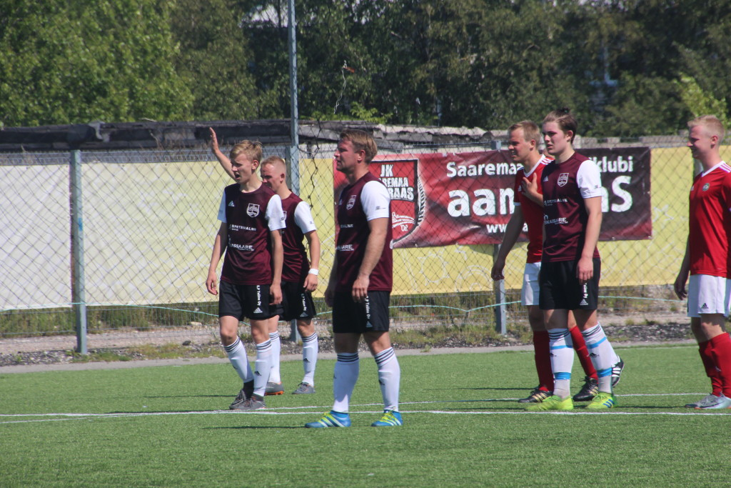 Saaremaa JK aameraaS mehed on mänguks valmis. Alver Kivi