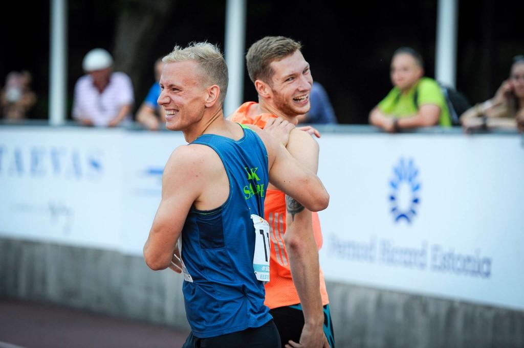 Marek Niit valitses sprinte. Marko Mumm/Eesti Kergejõustikuliit