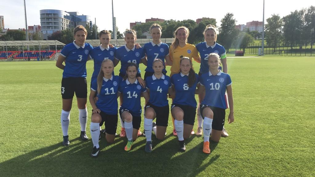 U17 koondis. Eesti Jalgpalli Liit