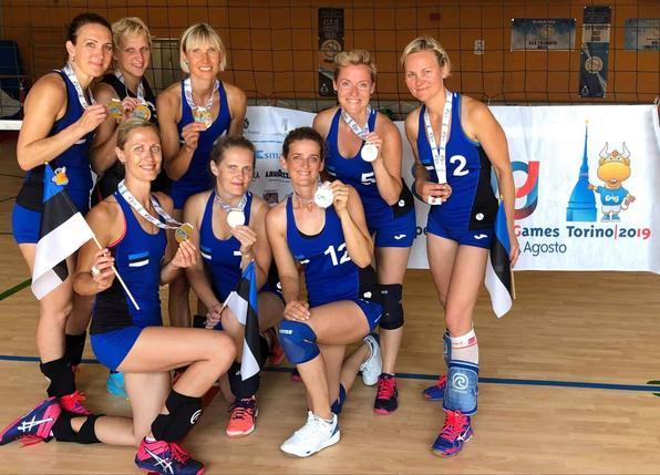 Võidukas naiskond. volley.ee