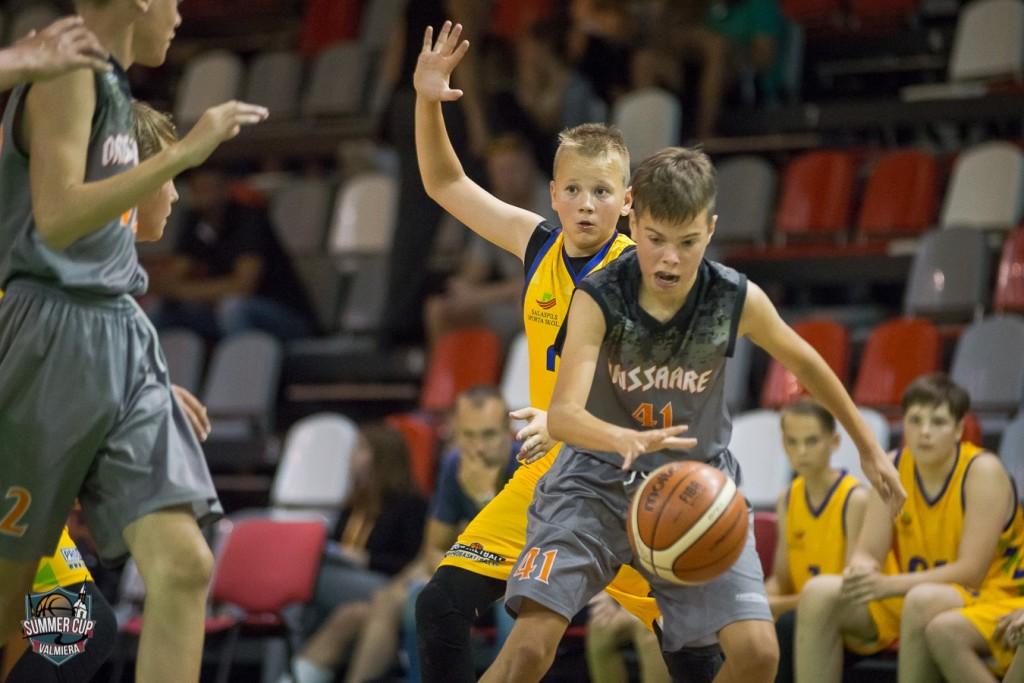 Margus Mägi U-14 tiimist. Orissaare Sport