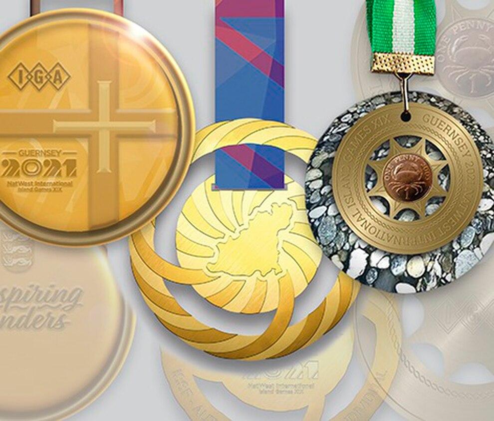 Medalite versioonid. ThisisGuernsey