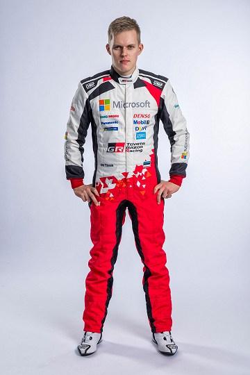 Ott Tänak on Kataloonia eel optimistlik. Toyota Gazoo Racing