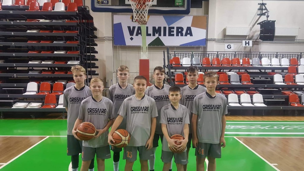 Võistkond Valmieras. Orissaare Sport