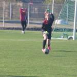 Victoria Vihman mängib palli lahti. Alver Kivi