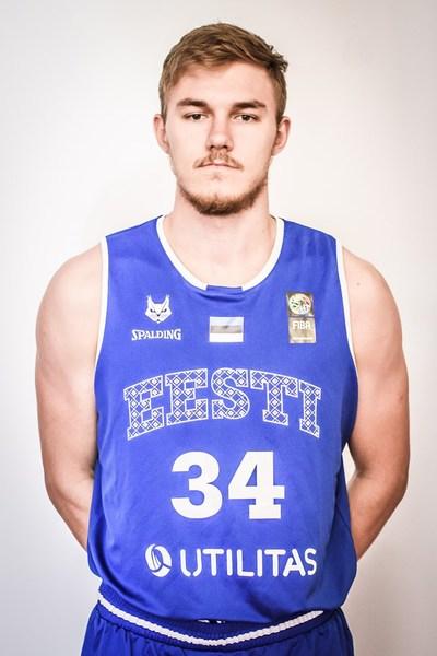 Tormi Niits on saanud Rakveres palju mänguaega. basket.ee