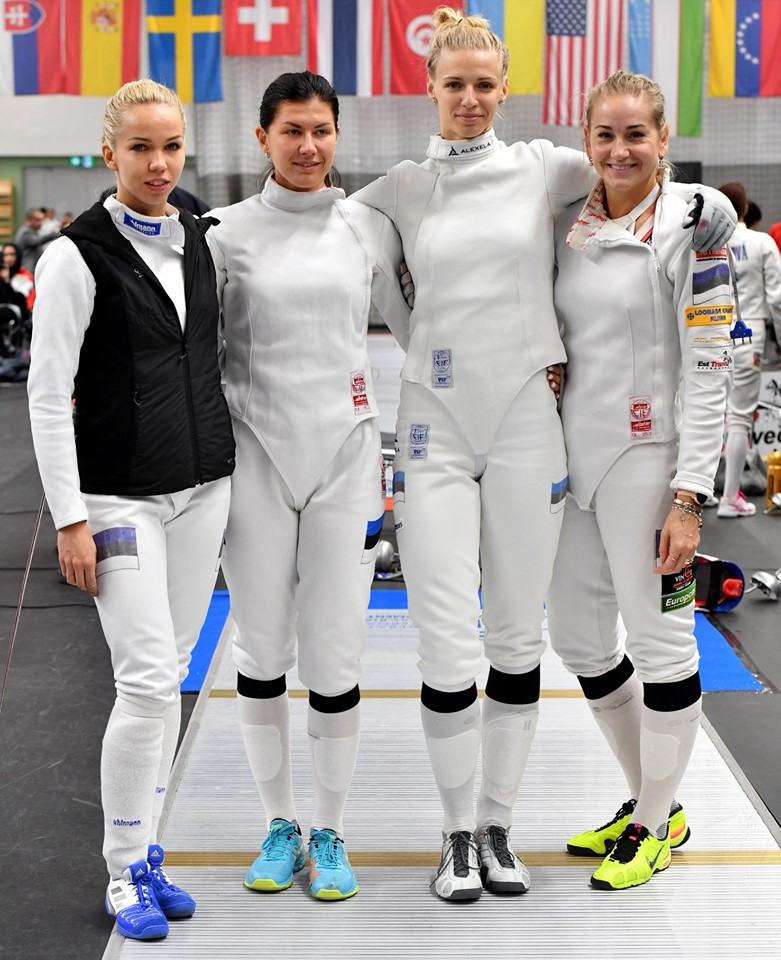 Eesti naiskond. International Fencing Foderation