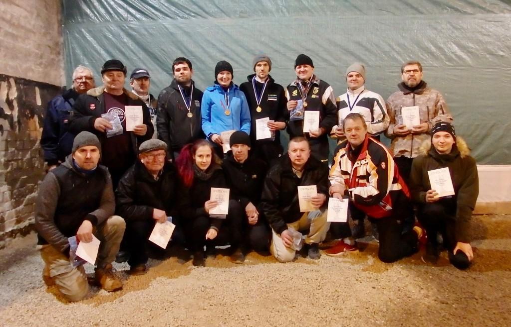 Osalejad. Saaremaa Petangiklubi