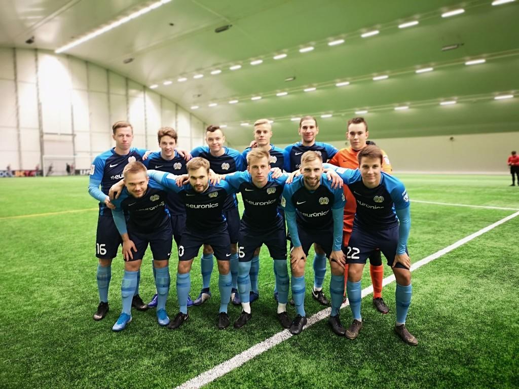 Meeskond on mänguks valmis. FC Kuressaare