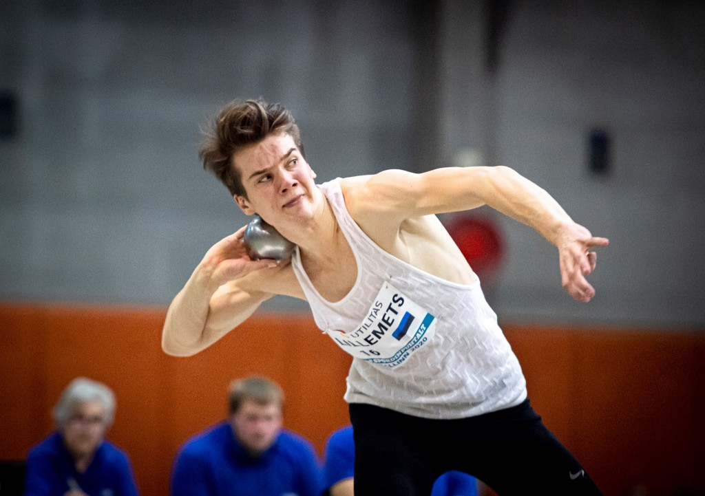 Hendrik Lillemets püstitas kuulitõukes isikliku rekordi. Marko Mumm/EKJL