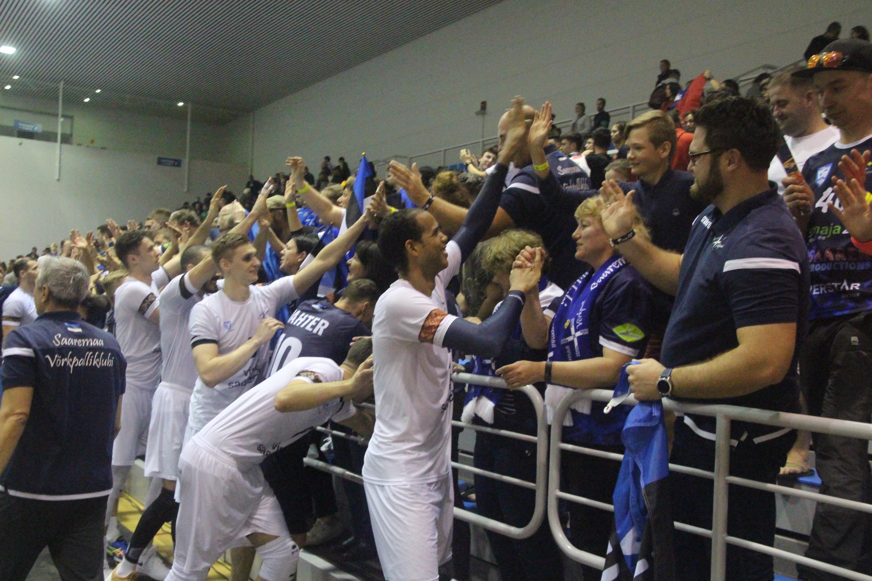 Saaremaa mängis end Pilvepiirilt veerandfinaali