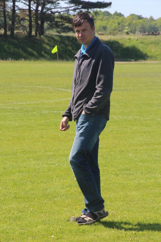 Priit Penu loodab klubiga rasketest aegadest üle olla. Alver Kivi