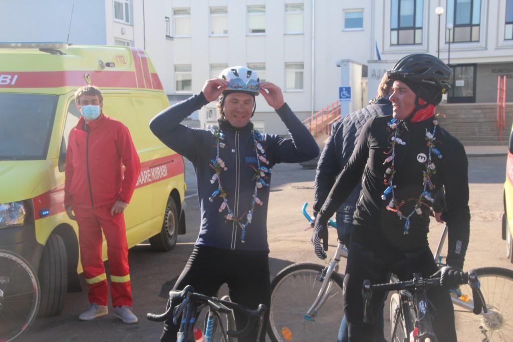Mihkel Räim ja Steven Kalf finišis. Alver Kivi