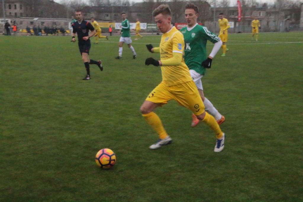 Värava lõi Sander Laht, kes muu....Alver Kivi