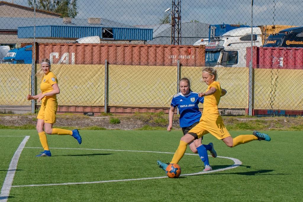 Kristina Teern lõi kaks väravat. Allan Mehik
