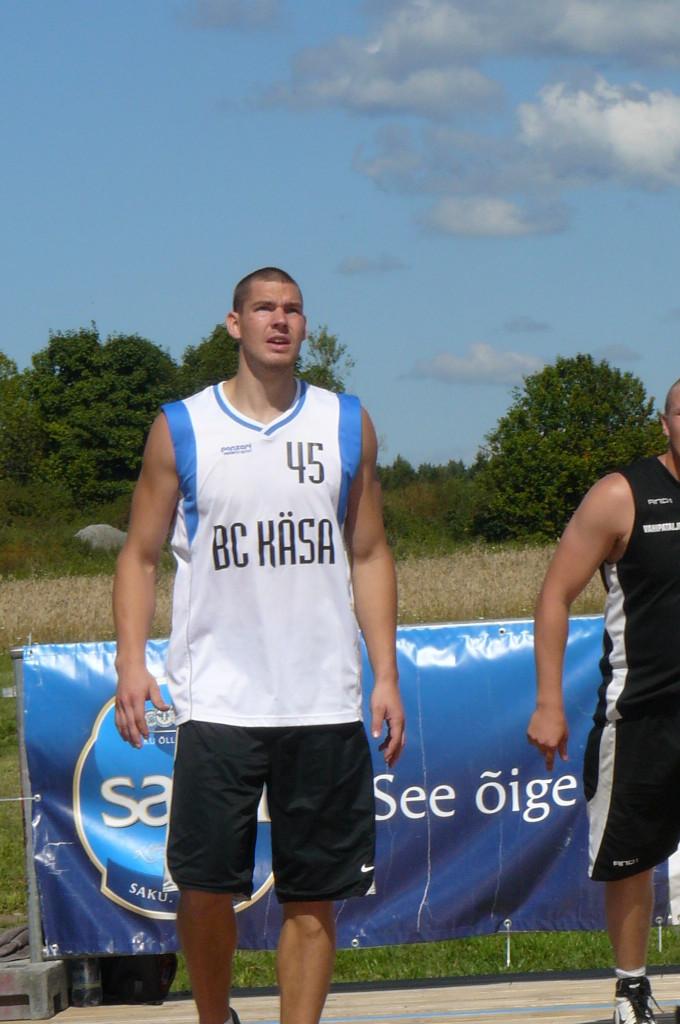 Meeskonna liider Indrek Kajupank. Alver Kivi