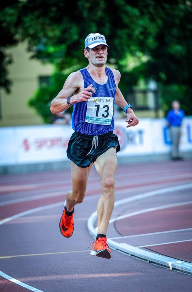 Tiidrek Nurme näitas staadionil head jooksuvormi. Marko Mumm/EKJL