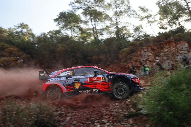 Türgi rallil. Hyundai Motorsport