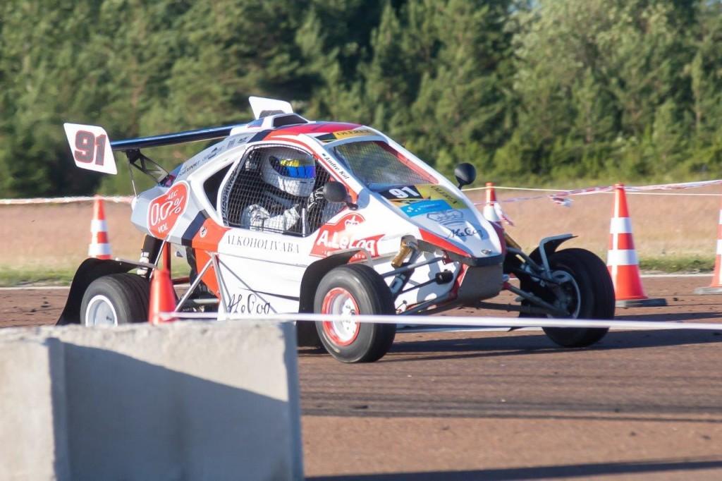 Andre Kiil näitas finaali häid sõiduoskusi. Irina Mägi
