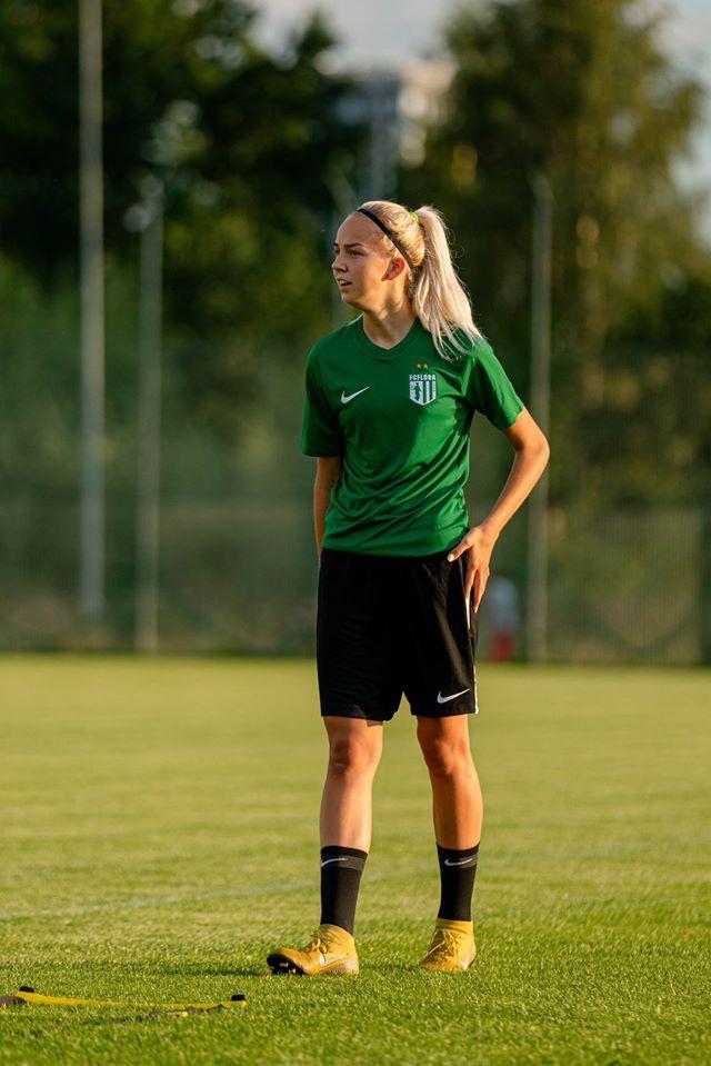 Kristina Teern Floras. FC Flora