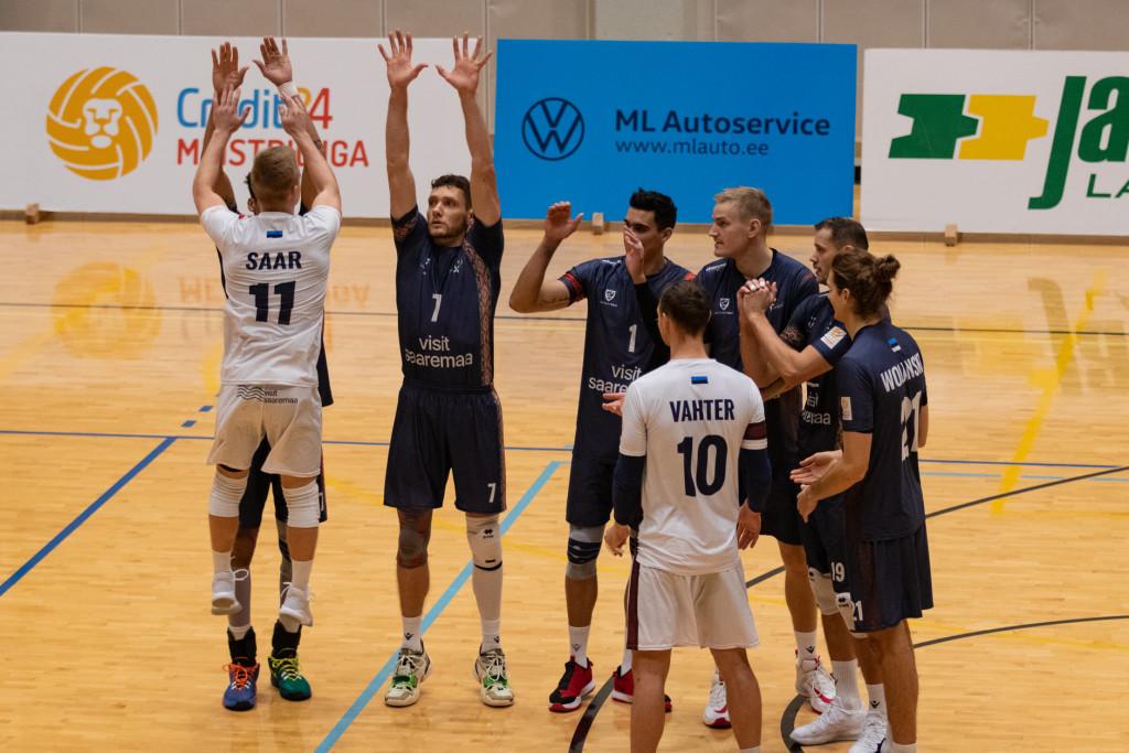 Saaremaa Võrkpalliklubi mängib pealtvaatajateta. Allan Mehik