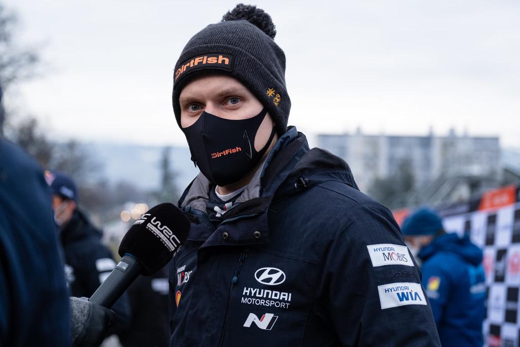 Ott Tänakul jäi ka tänavu Monte võitmata. Hyundai Motorsport