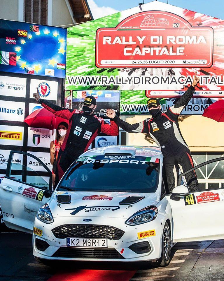 Ken Torni ja Kauri Pannase rallivõpit Itaalias. M-Sport Poland