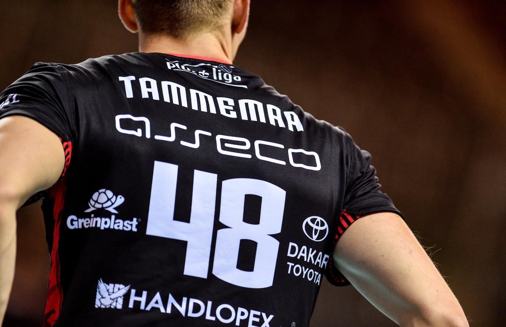 Timo Tammemaa ei teinud kõige paremat mängu. Asseco Resovia Rzeszow/Rafal Rusek / PressFocus