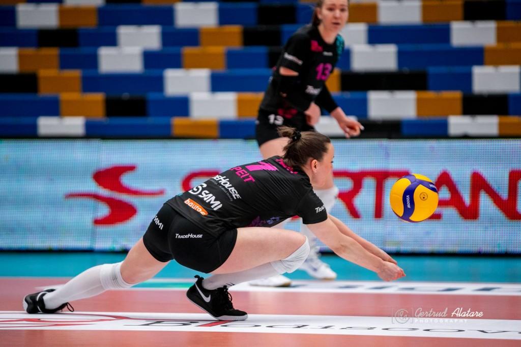 Nette Peit. Gertrud Alatare/volley.ee