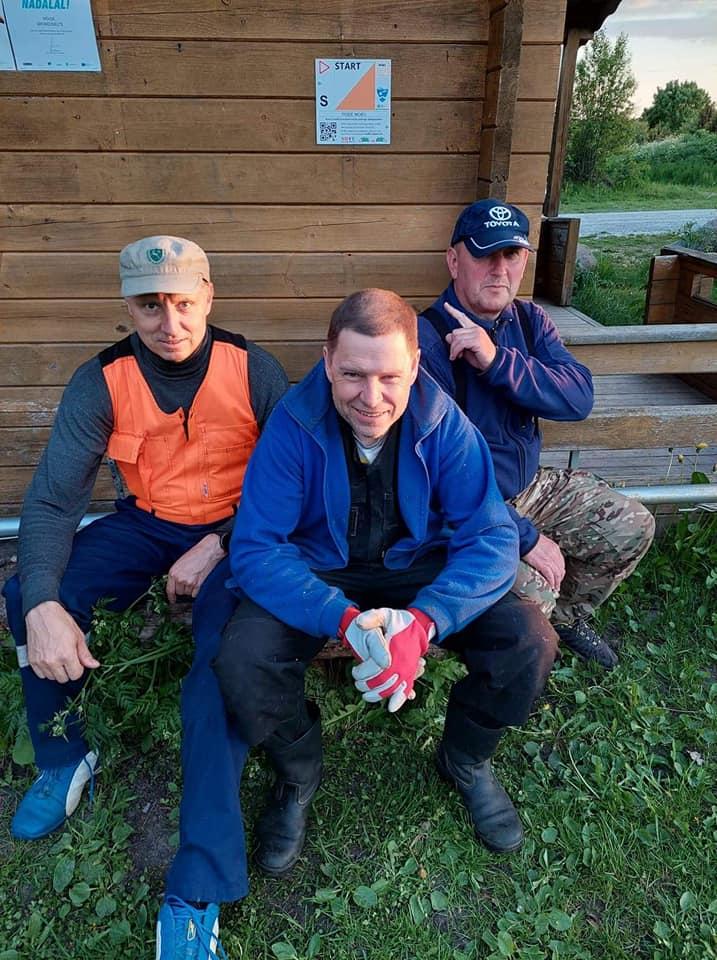 Jüri Linde, Argo Miller ja Toomas Oll. Erakogu