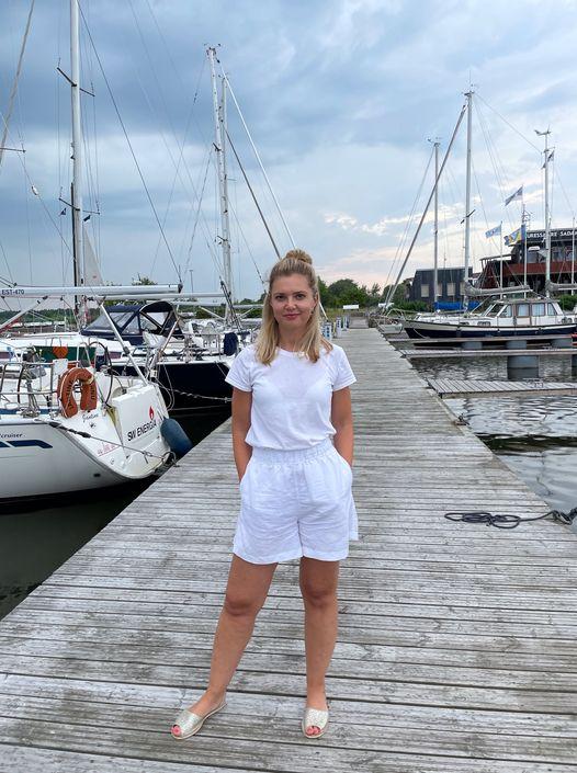 Airi Raamat ametipostil. Saaremaa Merispordi Selts