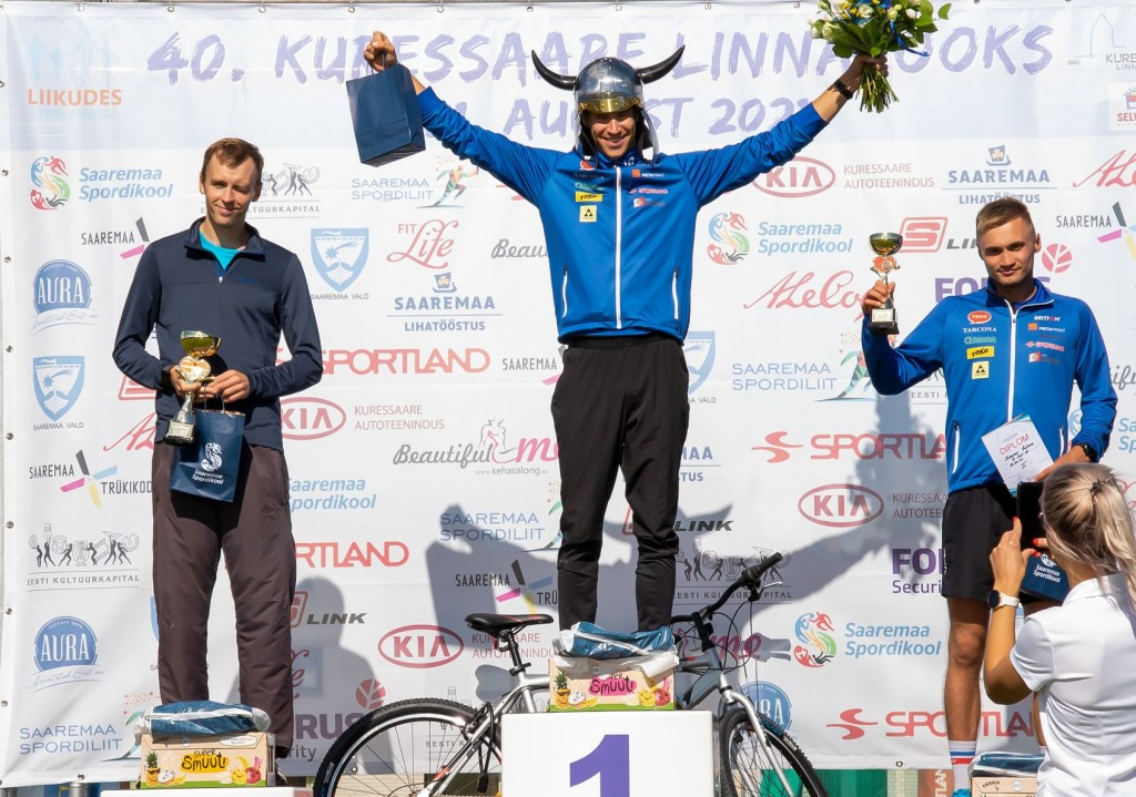 10 km üldvõitjad. Irina Mägi