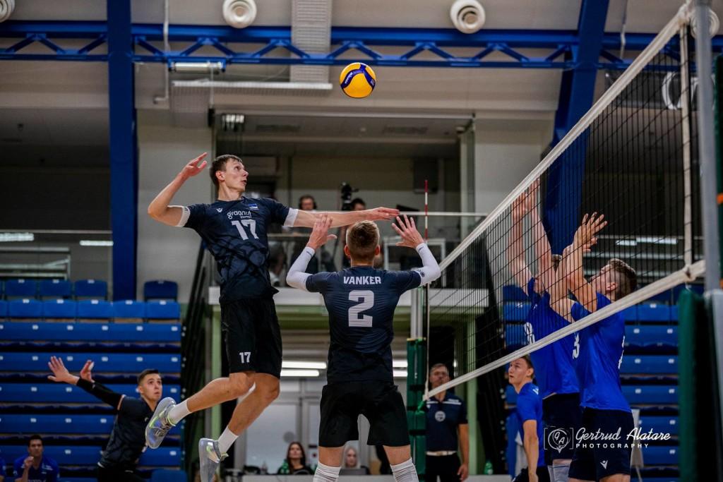 Timo Tammemaa rünnakul. volley.ee