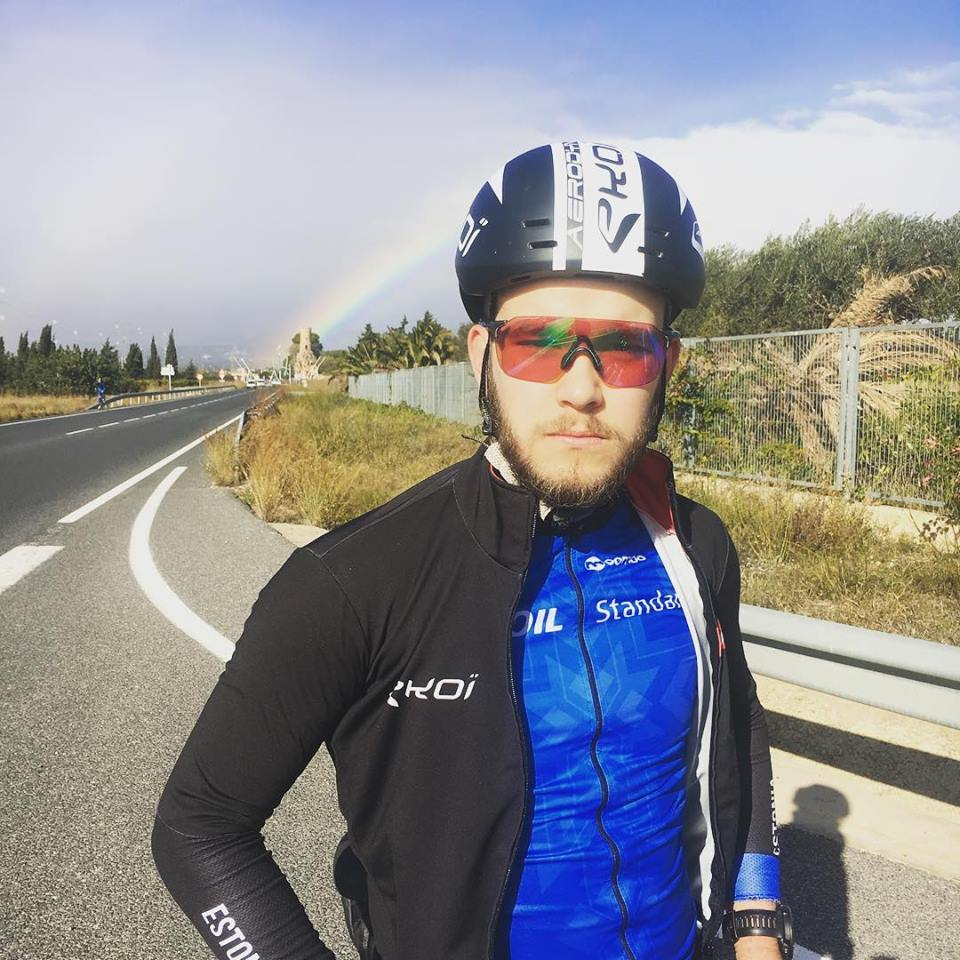 Karl Patrick Lauk koondises. Eesti maanteeratturite koondis