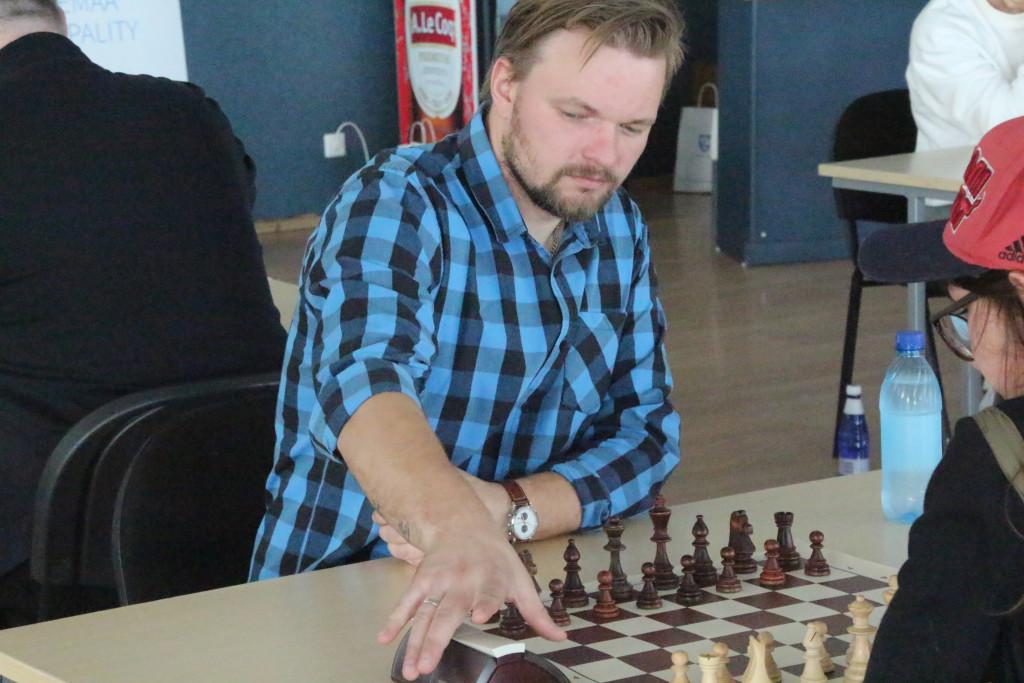 Kiirmale võitja Ergo Beek. Alver Kivi